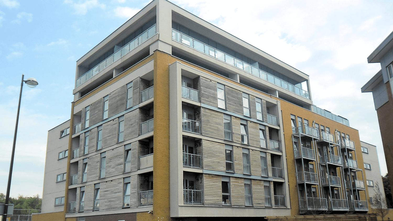 Manchester apartment building